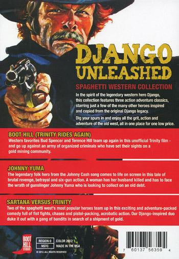 Django unleashed / Spaghetti western collection