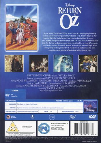Return to Oz / Oz - En fantastisk värld
