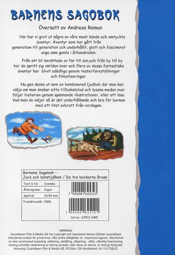 Barnens sagobok / Jack & bönstj+3 Bockarna Bruse