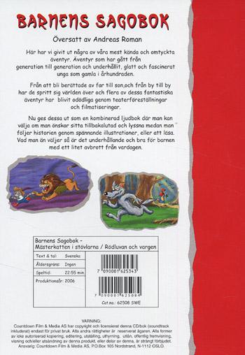 Barnens sagobok / Mästerkatten + Rödluvan...