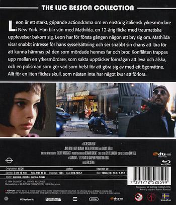 Leon (Danskt omslag)