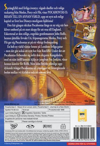 Pocahontas 2 / Resan till en annan värld