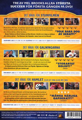 Det våras för Mel Brooks (3 filmer)