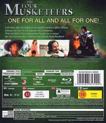 De fyra musketörerna