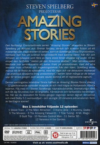 Amazing stories / Säsong 1 Box 1