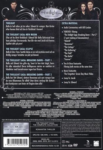 Twilight Saga / Complete collection