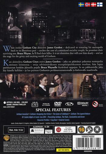 Gotham / Säsong 1