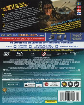 Mad Max - Fury Road 3D