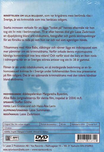 Billquist Ulla: När molnen skingras