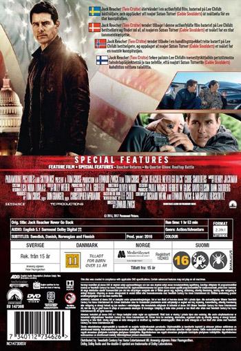 Jack Reacher 2 - Never go back