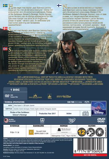 Pirates of the Caribbean 5 / Salazar's revenge
