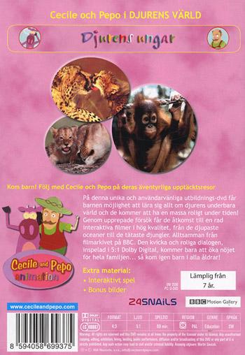 Djurens värld med Cecile & Pepo / Djurens ungar