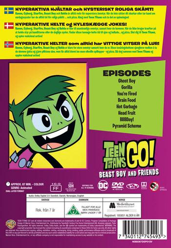 Teen Titans Go - Beast Boy and Friends