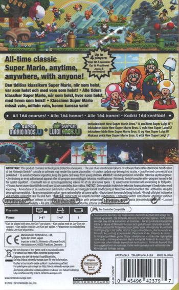 New Super Mario Bros / U Deluxe