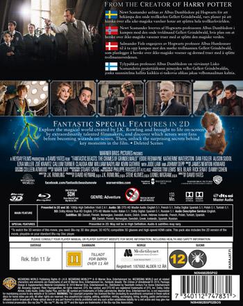 Fantastiska vidunder 2 - Grindewalds brott Ltd