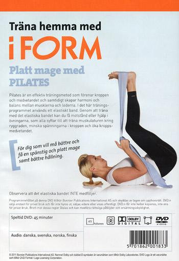 Träna hemma med iForm / Platt mage med Pilates