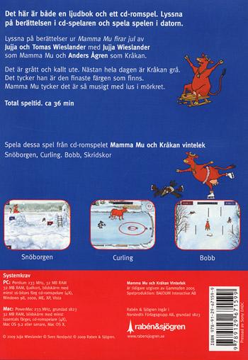 Mamma Mu och Kråkan firar jul - Ljudbok/PC-spel