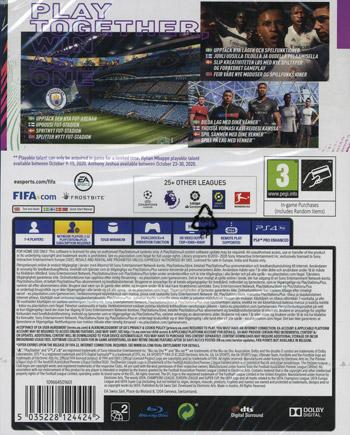 FIFA 21 (Nordic) - Includes PS5 Version