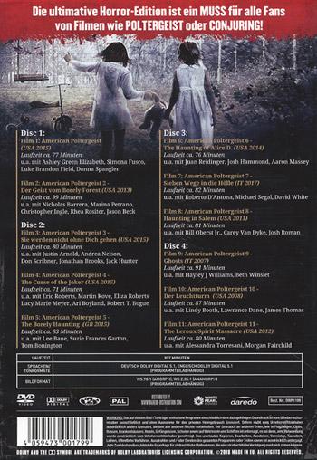 American Poltergeist 1-11 (Legacy Edition)
