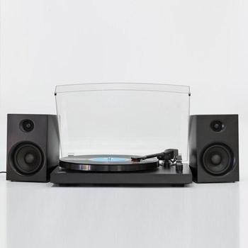 GPO Piccadilly Skivspelare / Stereo Svart