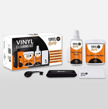 Vinylrengöring / Vinyl Buddy cleaning kit