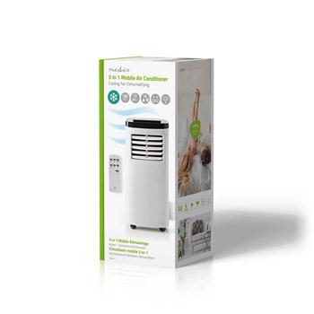 Nedis Mobile Air Conditioner / 45m3 / Vit