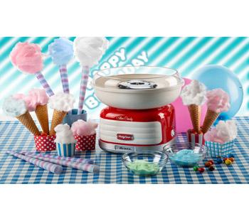 Ariete Party Time / Sockervaddsmaskin / Röd