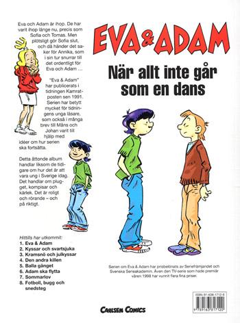 Eva & Adam / Fotboll bugg & snedsteg(Seriealbum)