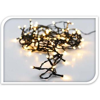 S.I.A Ljusslinga LED med fjärr 120 st lampor