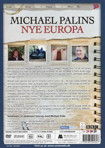Michael Palin's nya Europa (Norskt omslag)