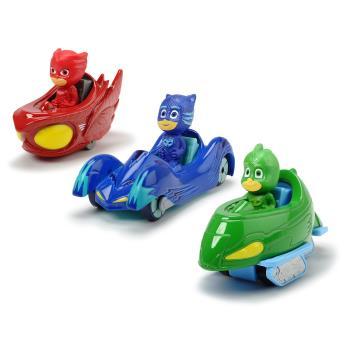 Pyjamashjältarna: 3-pack fordon