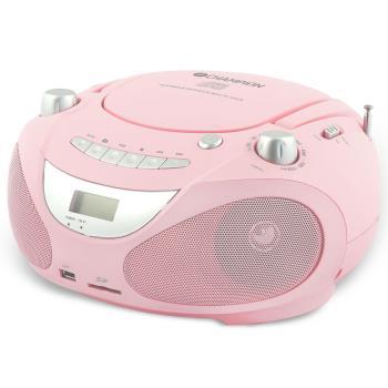 Champion: Boombox CD/Radio/MP3/USB Pink