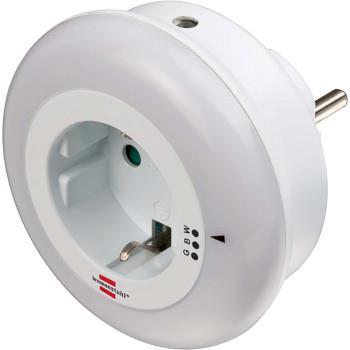 Brennenstuhl LED Nattlampa 0.8 W Dual Sensor