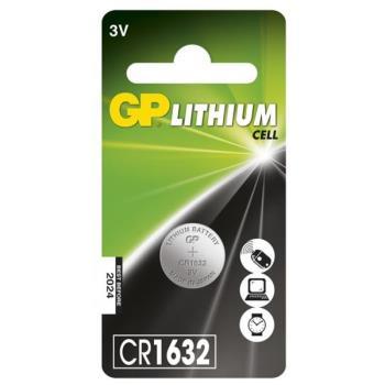 GP Lithium Cell Battery CR1632, 3V