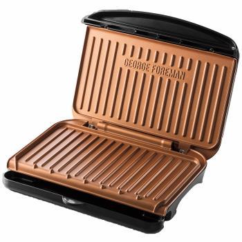 George Foreman: Elgrill 25811-56 Fit Grill Copper - Medium