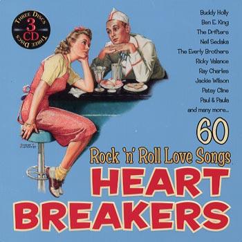 Heart Breakers/60 Rock'n'Roll Love Songs (Plåtb)