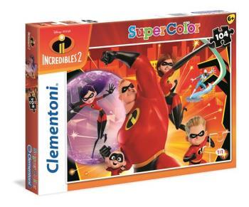 104 pcs. Puzzles Kids SuperColors The Incredibles