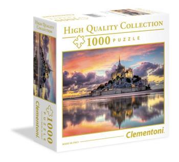 1000 pcs. High Quality Collection SQUARE Le Magnifique Mont Saint-Michel