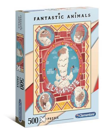 500 pcs. Fantastic Animals Llama