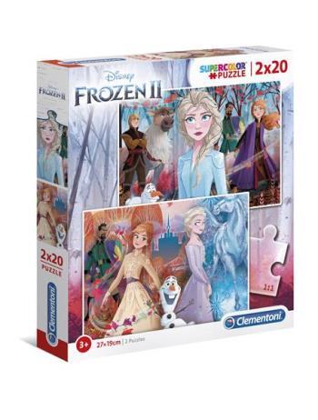 2x20 Puzzles Kids Frozen 2