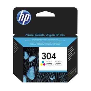 HP 304 Tri-color C/M/Y Ink cartridge, 100 pages