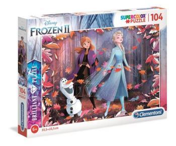 104 pcs. Puzzles Kids Brilliant Frozen 2