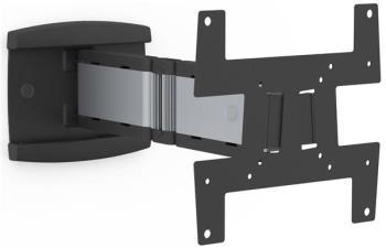 SMS Icon WL 3D - 3D wallmount, Max load 12kg, VESA 75x75 - 200x200, Aluminium/Piano Black