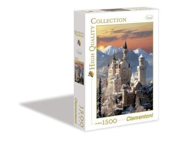 1500 pcs. High Quality Collection NEUSCHWANSTEIN