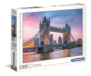 1500 pcs. High Quality Collection Tower Bridge Sunset
