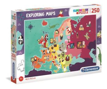 250 pcs. Puzzles Kids SuperColor Great People In Europé