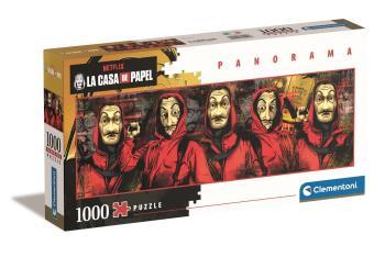 1000 pcs. High Quality Collection Panorama La Casa de Papel