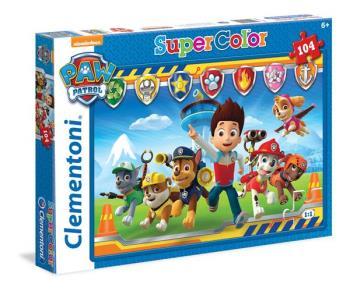 104 pcs Puzzles Kids Paw Patrol
