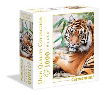 1000 pcs. High Quality Collection SQUARE Sumatran Tiger