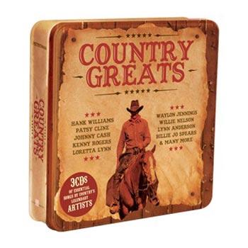 Country Greats (Plåtbox)
